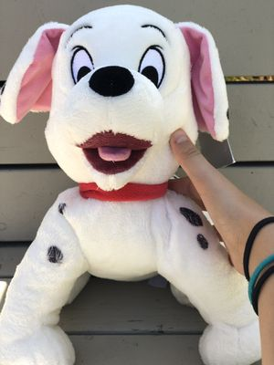 One hundred and one Dalmatians puppy stuffed animal for Sale in San Jose, CA