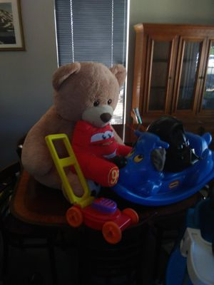 Kids toys highchair toybox for Sale in Portland, OR
