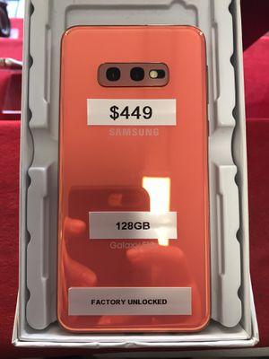 Samsung Galaxy s10e 128GB Factory Unlocked orange 🍊 for Sale in The Bronx, NY