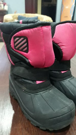 2 - PAIRS OF SNOW BOOTS FOR GIRL SIZE: 12,13 for Sale in Chula Vista, CA