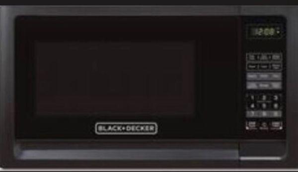 Black and Decker 1000 Watt Microwave