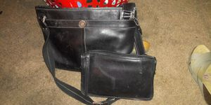 Leather Coach messenger bag and clutch bag for Sale in Las Vegas, NV