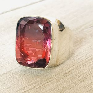 Bi Color.Stone in .925 Silver Ring size 9.5 for Sale in Castle Rock, CO