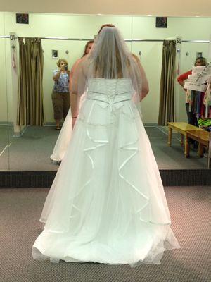 David's Bridal Wedding Dress for Sale in Glasgow, KY
