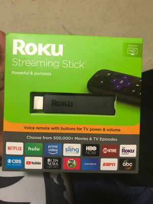 Roku streaming stick for Sale in Fort Wayne, IN