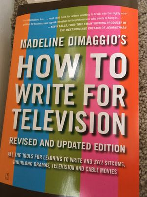 Screenwriters bible, how to write for television, photoshop for dummies for Sale in Ashburn, VA