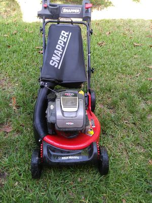 Lawn mower/lawnmower snapper ninja n excellent conditions auto choke one pull start rear wheel drive selfpropelled cost $ 700 + tax New for Sale in Pembroke Pines, FL