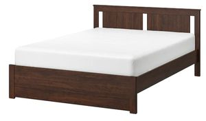 Sparingly Used Full Size Ikea Bed and Signature Sleep Contour Encased Mattress for sale for Sale in West Windsor Township, NJ