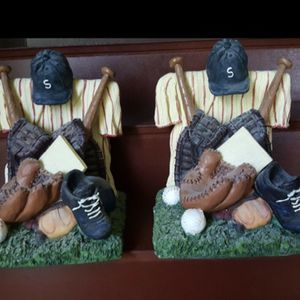Baseball Book Ends - By Avery Creations for Sale in Sacramento, CA