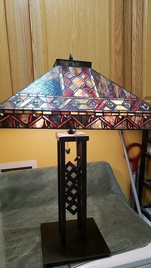 Large stain glass lamp for Sale in Simpsonville, SC