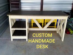 Custom HANDMADE Farmhouse Desk!!! PLEASE READ DESCRIPTION!!! for Sale in Murfreesboro, TN