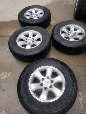 265/70/R17 tires and wheels. for Sale in North Chesterfield, VA