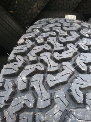 Used tires high tread $45 text ur size for Sale in Montgomery, IL