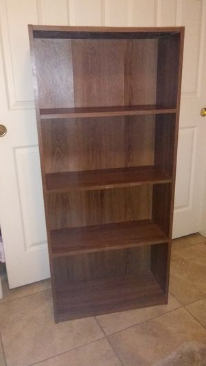 4 Shelves. Book Shelf in S.W. 4.5 ft high for Sale in Bakersfield, CA