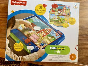 Fisher price little people I-Jig Interactive electronica puzzle system for Sale in Los Angeles, CA