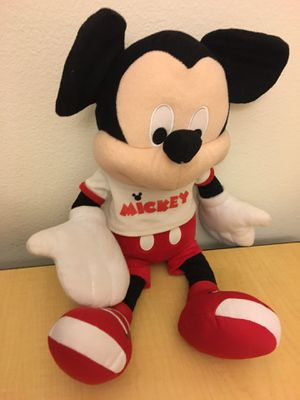 Mickey Mouse and teddy bears plush for Sale in San Diego, CA