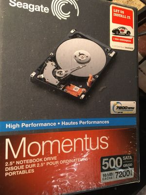 500GB SATA Notebook HD 7200 for Sale in Severna Park, MD