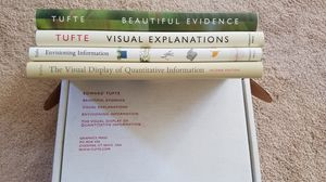 Boxed set of Tufte books for Sale in Seattle, WA