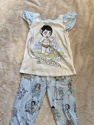 Girls Disney Animator Moana Pajamas Size 5/6 for Sale in Santee, CA