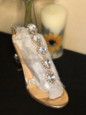 Clear strap heels for Sale in Riverside, CA