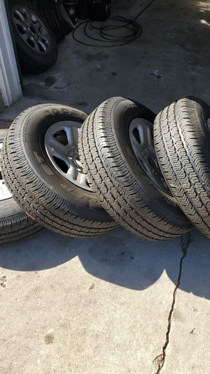 Brand new jeep wrangler rims and tires for Sale in Arvada, CO