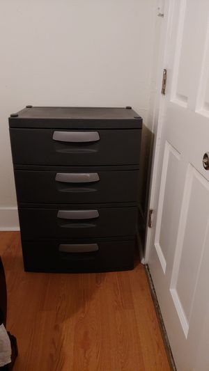 Large plastic drawer for Sale in Long Beach, CA