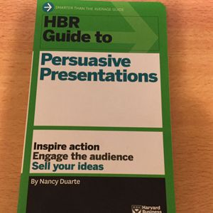 HBR Guide To Persuasive Presentations for Sale in Rosemead, CA