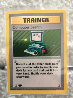 Pokemon - Base (shadowless) & 1st Edition - Trainer Computer Search for Sale in Auburn, WA
