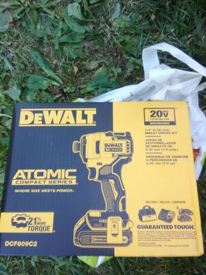Dewalt Atomic compact seris impact drill for Sale in Randallstown, MD