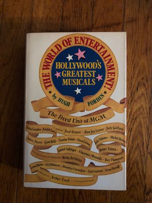 The World of Entertainment by Hugh Fordin for Sale in Linden, NJ