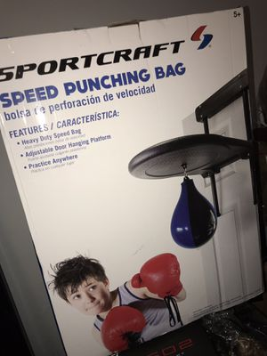 Speed Punching bag for Sale in Worcester, MA