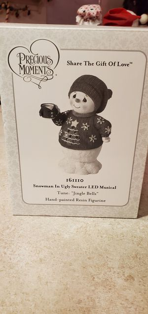 Precious moments snowman for Sale in Long Beach, CA