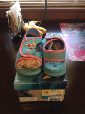 Toddler water shoes/sandals for Sale in Kingston, MA