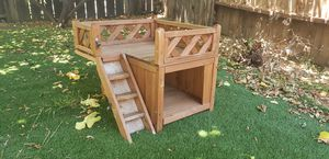 Small outdoor wood dog house for Sale in Walnut Creek, CA