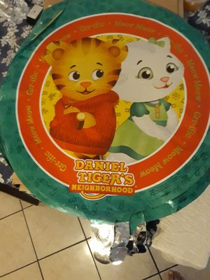 Daniel tiger's neighborhood foil party balloons/ party supplies for Sale in Glendale, AZ