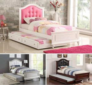 TWIN/TWIN TRUNDLE BED FRAME ONLY for Sale in Ontario, CA