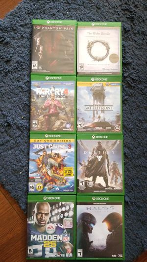 Xbox One games. Assortment for Sale in Indian Rocks Beach, FL