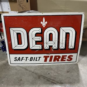 Dean Tire Sign for Sale in Reed, KY