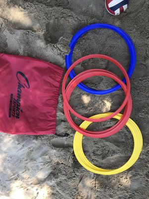 "Brand New Champion Speed Rings (Training) 4 Red, 4 Yellow, and 4 Blue 16"" Diameter for Sale in Riverside, CA"
