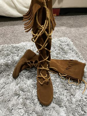 Moccasin boots for Sale in Los Angeles, CA