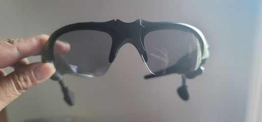 Motorcycle Glasses With Bloototh Earbuds for Sale in Aurora, IL