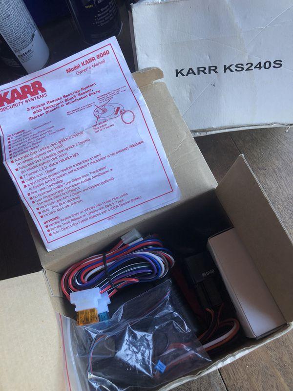 Car Alarm System MDL #ks240s for Sale in San Leandro, CA - OfferUp