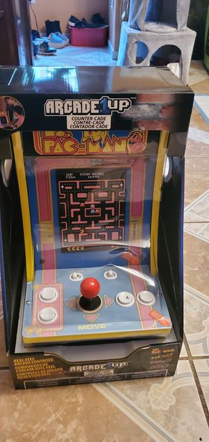 New ms pacman galaga counter arcade for Sale in Houston, TX