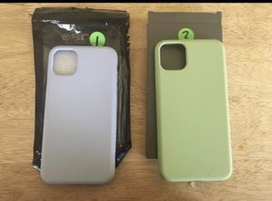 Iphone 11 silicone cases for Sale in Victorville, CA