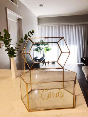 David Tutera Gold Frame Card Box for Sale in Los Angeles, CA