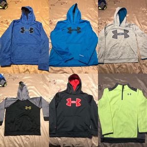 Various Hoodies Under Armour Nike and Adidas for Sale in Smyrna, GA