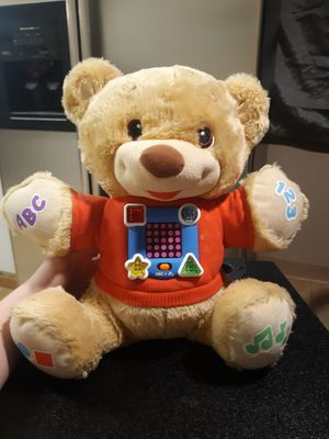 Fisher-Price learn and sing teddy bear for Sale in Columbus, OH