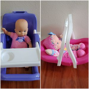 Baby toy eating chair and carrier for Sale in Altamonte Springs, FL