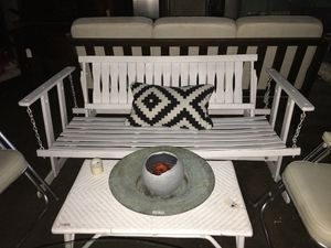 Vintage white porch swing for Sale in Portland, OR