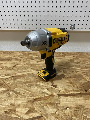 ⚠️ DEWALT 20-Volt MAX XR Cordless Brushless High Torque 1/2 in. Impact Wrench w/ Detent Pin Anvil (Tool Only)⚠️ for Sale in Fontana, CA